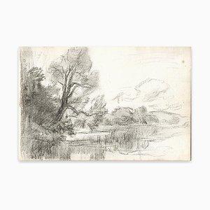 Louis-Charles Willaume, Arbre, Craie, Début 20ème Siècle