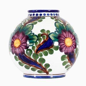 Jarrón danés esférico de cerámica de Harald Slott-Moeller, 1905