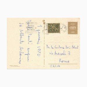 Correspondence by Alberto Arbasino to Countess Pecci Blunt, Mid-20th-Century