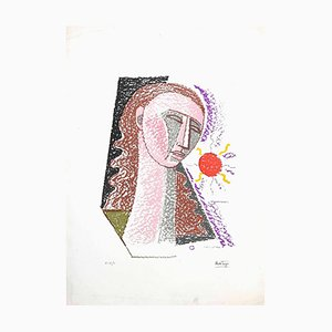 Mario Tozzi - Woman - Original Lithograph - 1975