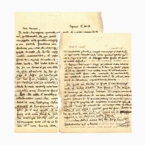 Arrigo Benedetti - Letter to Mino Maccari - 1934