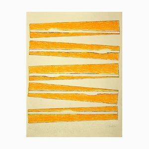 Claudio Verna, Composition, Lithograph, 1970