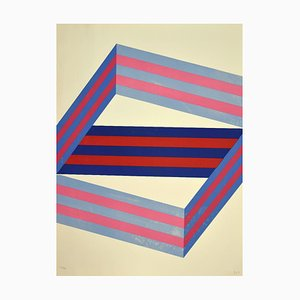 Renato Livi - Abstract Composition - Lithograph - 1971