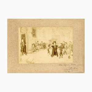 Unknown - Painting with Autograph - Vintage photo by Giuseppe Micali - Early 20th century