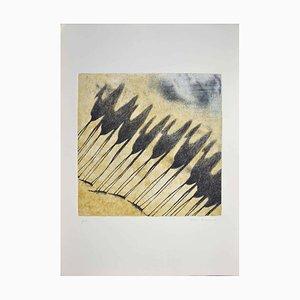 Tullio Diamanti, Schatten der Kamele, Radierung, 1980