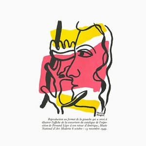 Fernand Léger - Composition - Lithografie - 1982