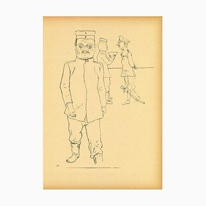 George Grosz - General from Ecce Homo - Offset and Lithograph - 1923