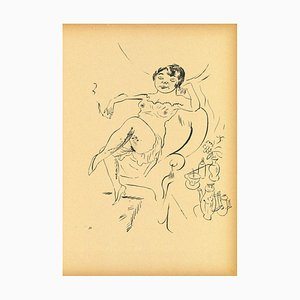 George Grosz - Woman from Ecce Homo - Offset and Lithograph - 1923