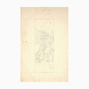 Unknown - Household - Original Pencil on Paper - Early 20th Century