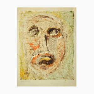 Sebastiano Carta, Portrait, Drawing, 1950s
