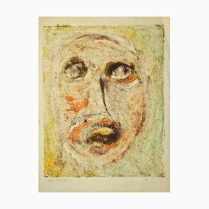 Sebastiano Carta, Portrait, Zeichnung, 1950er