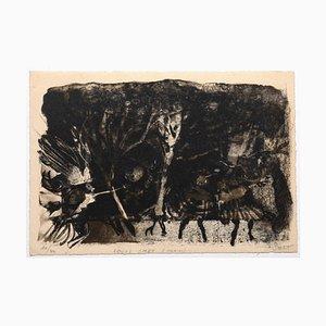 Louis Smet, Komposition, Lithographie, 1975
