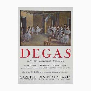 Edgar Degas, Degas, Vintage Offset Poster, Mid-20th Century