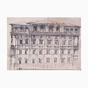 Gabriele Galantara, Architecture, Dessin au Plume, 1910s