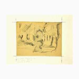 Mogniat-Duclos Bertrand, Im Garten, 1950er