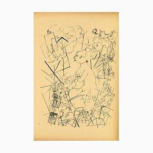 George Grosz, Eva von Ecce Homo, Offset and Lithograph, 1923