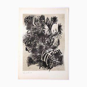 Leo Guida, Decadence 3, Radierung, 1965