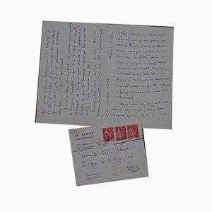 François Le Grix, Travel In Italy, Autograph Letter, 1935