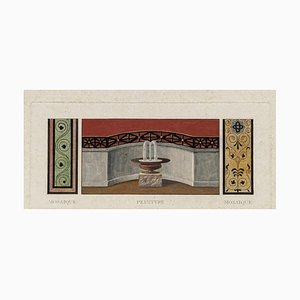 Unknown - Decorative Frieze - Original Etching on Paper - 1850s