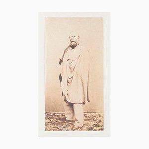Unknown, Garibaldi, Silbersalz Foto auf Karton, Spätes 19. Jh