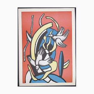 Fernand Léger, The Birds, Lithograph, 1978