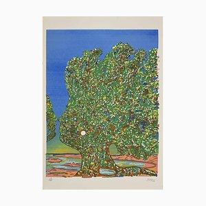Mayo (Antoine Mallarakis), L'arbre De L'amour (Der Baum der Liebe), Lithographie, 1980