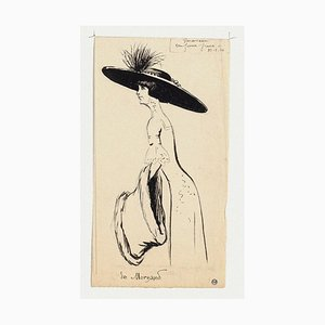 Retrato de Maurice Lourdey, tinta sobre papel, 1910