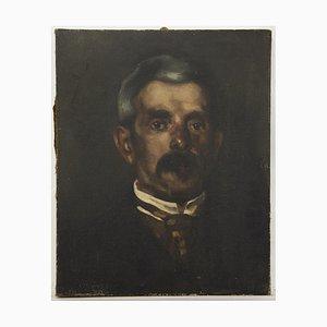 Inconnu, Portrait d'Homme, Huile sur Toile, 19ème Siècle