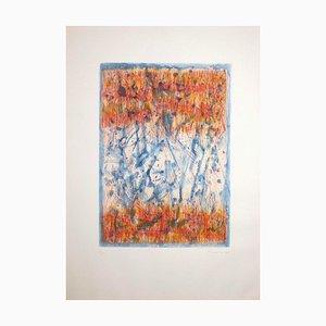 Antonio Corpora, Abstrakte Komposition, Radierung, 1977