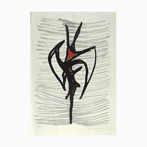 Nino Franchina, Study for A Totem, Screen Print, 1970