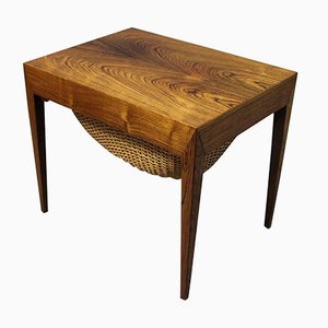 Petite Table de Couture par Severin Hansen pour Haslev, 1960s