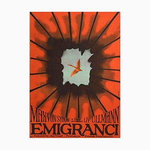 Unknown, Emigrants, Poster, Offset Print, 1971