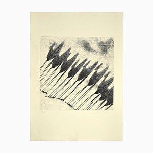 Tullio Diamanti, Schatten der Kamele, Radierung, 1980er