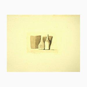 Giorgio Morandi, Composition Nature Morte, Offset, 1973