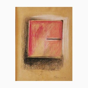 Claudio Palmieri, Notebook, Pastel and Pencil, 1989