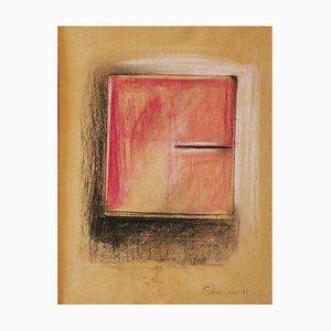 Claudio Palmieri, Notizbuch, Pastell und Bleistift, 1989