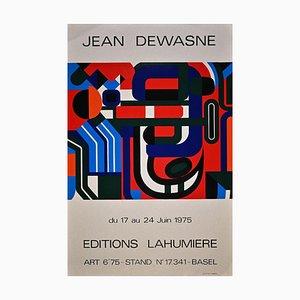Jean Dewasne, Jean Dewasne Exhibition, Screen Print and Offset, 1975