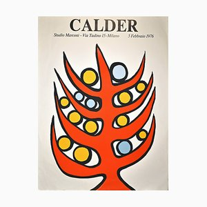 Alexander Calder, Calder Exhibition Print, Screen-Print, 1976