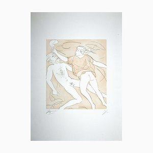Giacomo Manzú, The Dance of Orpheus, Etching, 1978