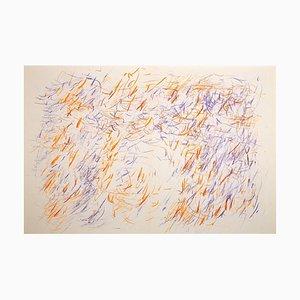 Jean René Bazaine, Abstrakte Komposition, Lithographie, 1968