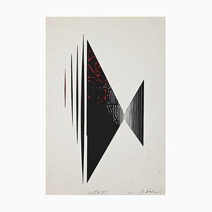 Unknown, City, Lithograph, 1975