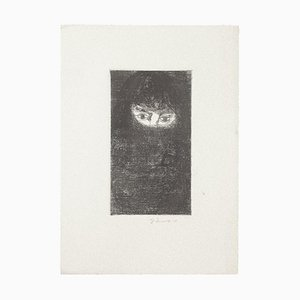 Gian Paolo Berto, The Eyes, Etching, 1970s