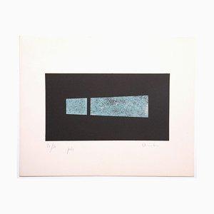 Unknown, Composition, Lithografie, spätes 20. Jahrhundert