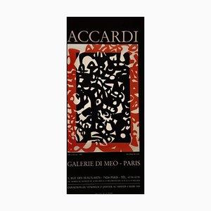 Carla Accardi, Carla Accardi, Vintage Poster Exhibition, 1989