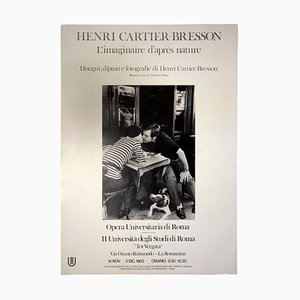 Henri Cartier-Bresson, Henri Cartier-bresson, Vintage Poster, 1983