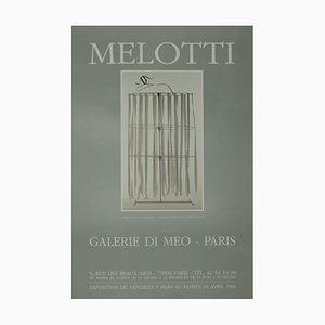 Fausto Melotti, Melotti, Posters Vintage, 1990