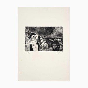Guelfo Bianchini, Figures 1959, Etching, 1959