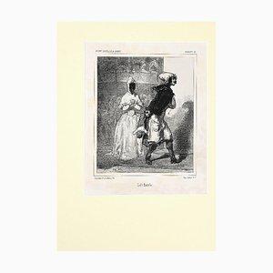 Paul Gavarni, Ciel! Anatole!, Lithograph, 19th Century