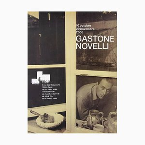 Unknown - Gastone Novelli - Vintage Exhibition Poster - 2008