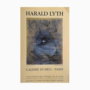 Harald Lyth, Vintage Exhibition Poster, 1991